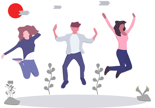 three-people-jumping-up-in-excitement-liberated-icon-4
